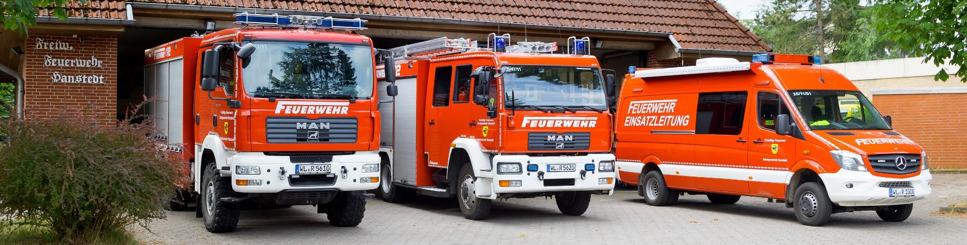 Fahrzeuge OF Hanstedt
