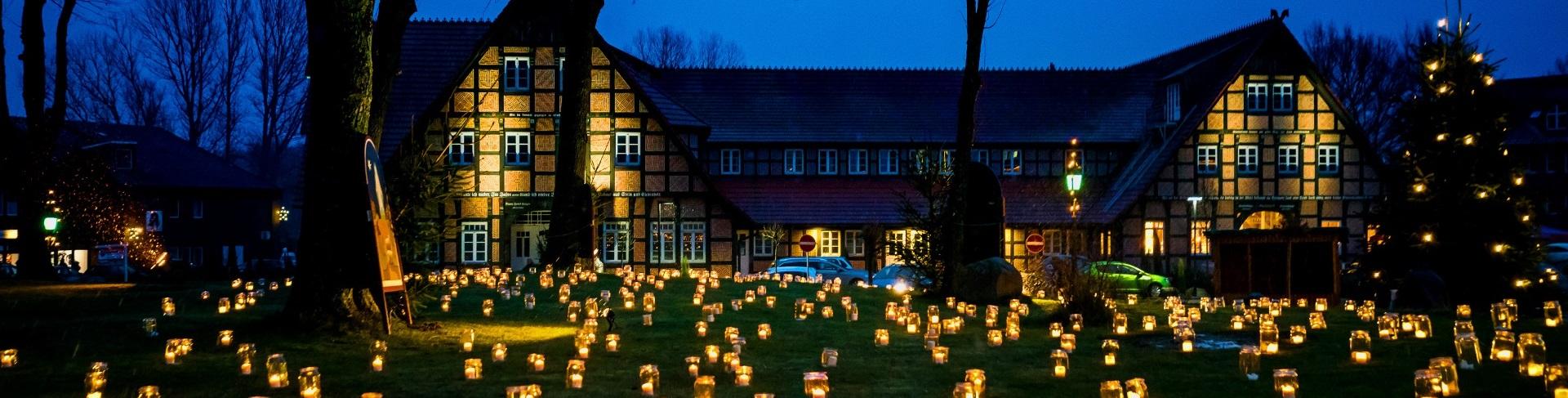 Weihnachtliches Hanstedt